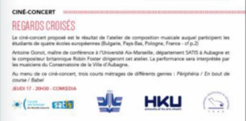 ÉVÉNEMENT – CINE-CONCERTS AU FESTIVAL INTERNATIONAL DU FILM D'AUBAGNE