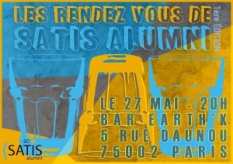 EVENEMENT SATIS ALUMNI – 1ère EDITION DES RENDEZ-VOUS DE SATIS ALUMNI À PARIS